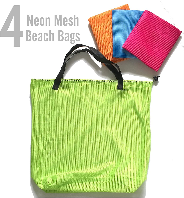 Neon Green Fish Beach Tote Halloween Tote  Travel Bag  Travel Tote