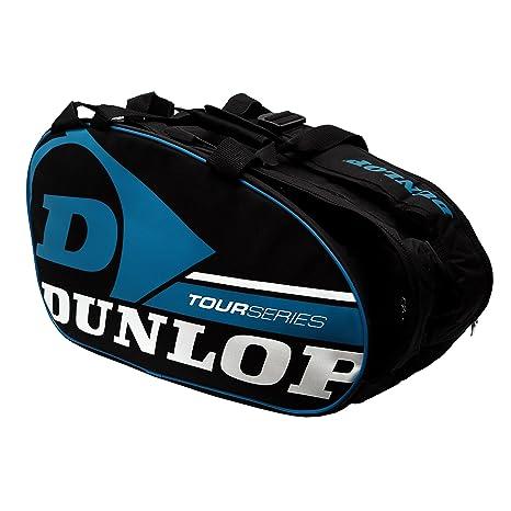 Paletero de pádel Dunlop Tour Intro Negro / Azul: Amazon.es ...