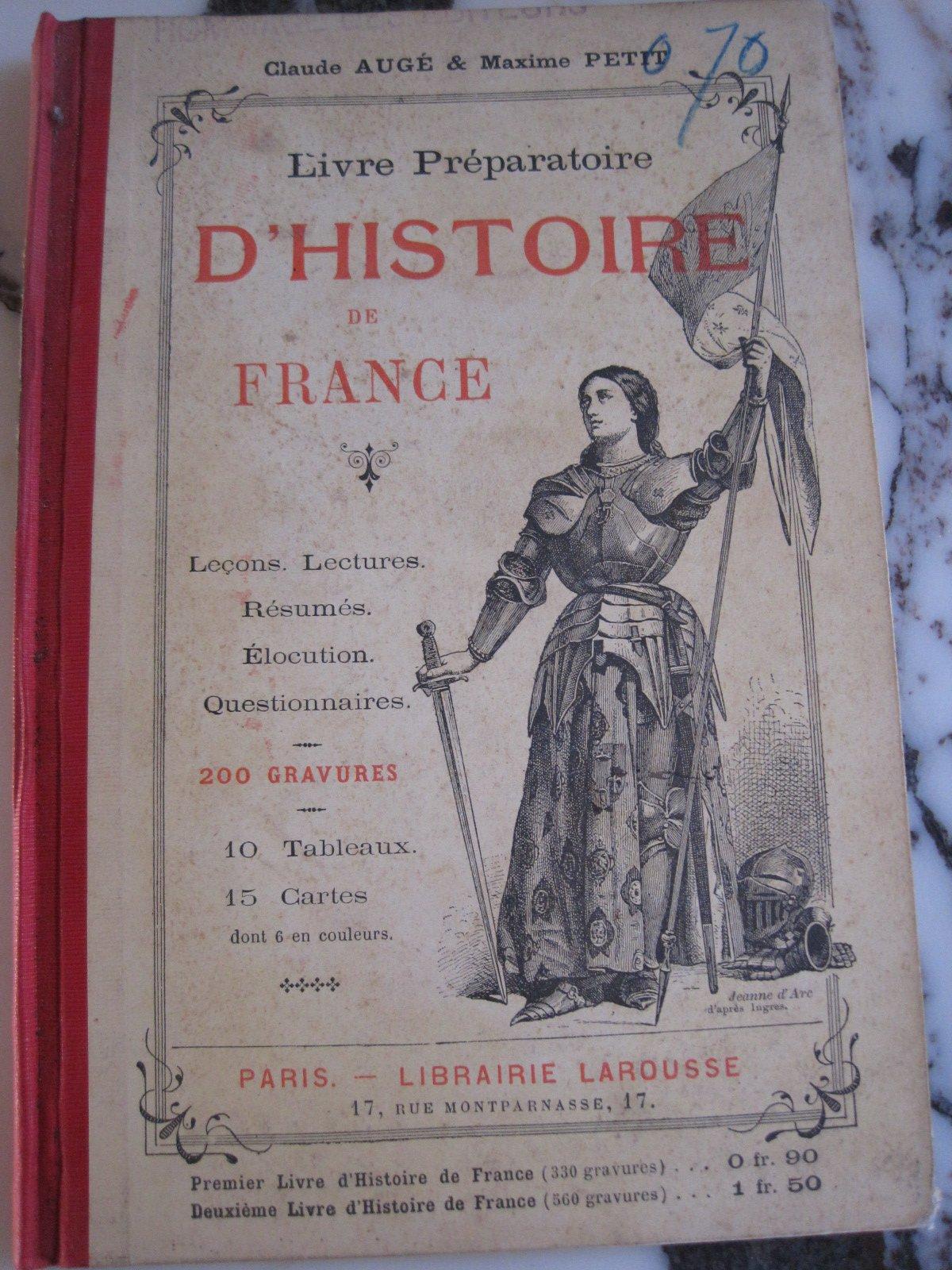 Amazon Fr Livre Preparatoire D Histoire De France Par