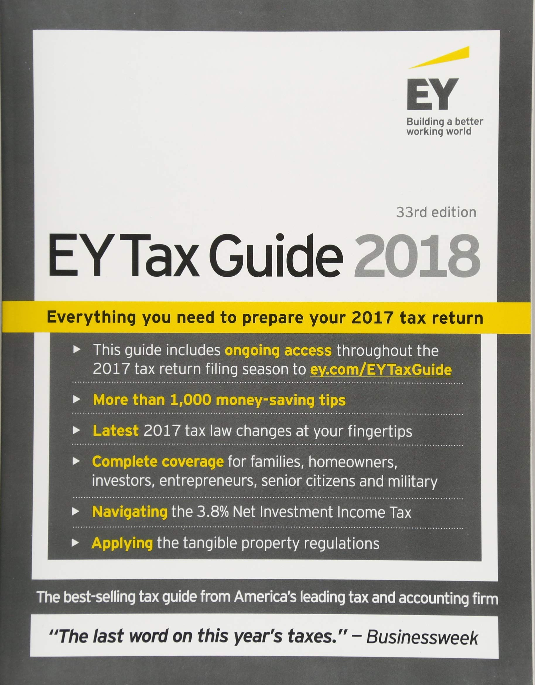 Ernst & Young Tax Guide 2018: Ernst & Young LLP