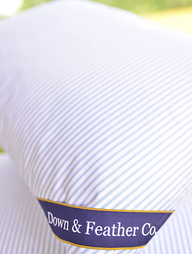 Original Extra Firm Hungarian Feather Pillow - The Perfect Firmness For All Sleepers