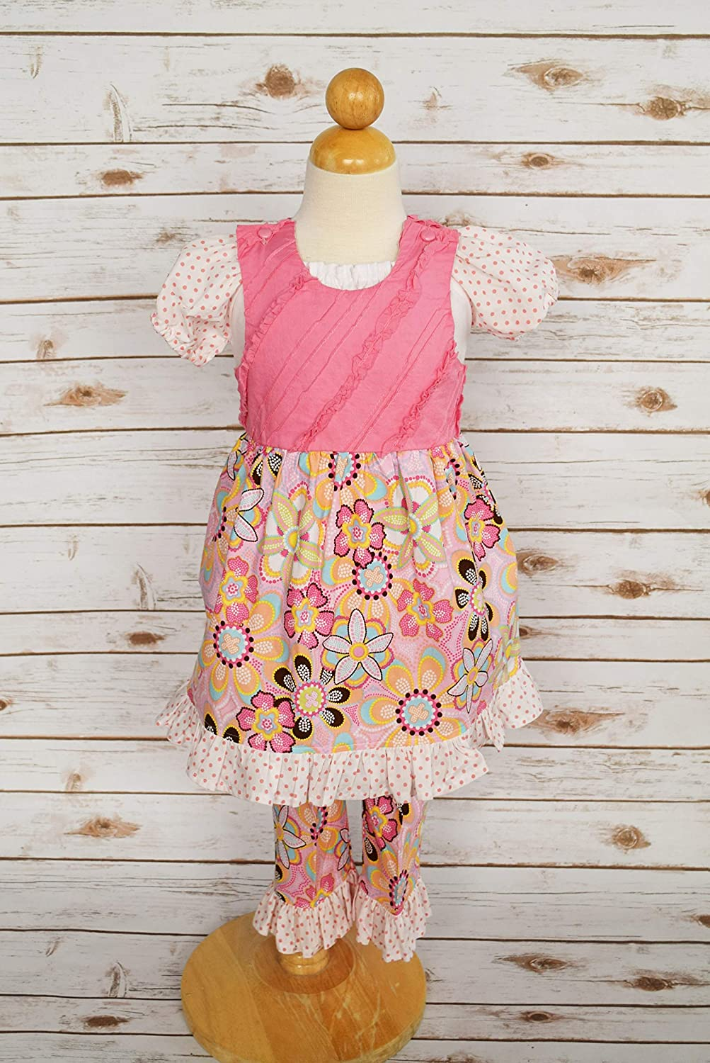6171ab0396b03 Amazon.com: Girls boutique outfit, Girls Boutique Dress, Girls ...