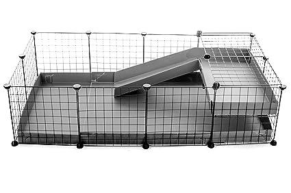 Kavee Cavy jaula Coroplast Metal Rejillas Modular modulable Loft ...