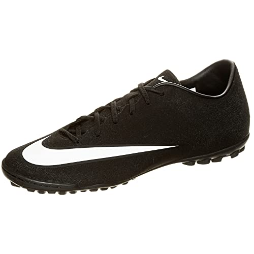 cedb4d65 Nike Mercurial Victory V CR7 TF Cristiano Ronaldo Turf Soccer Cleat (11.5  D(M) US, Black/White-Neo Turqoise): Amazon.ca: Shoes & Handbags