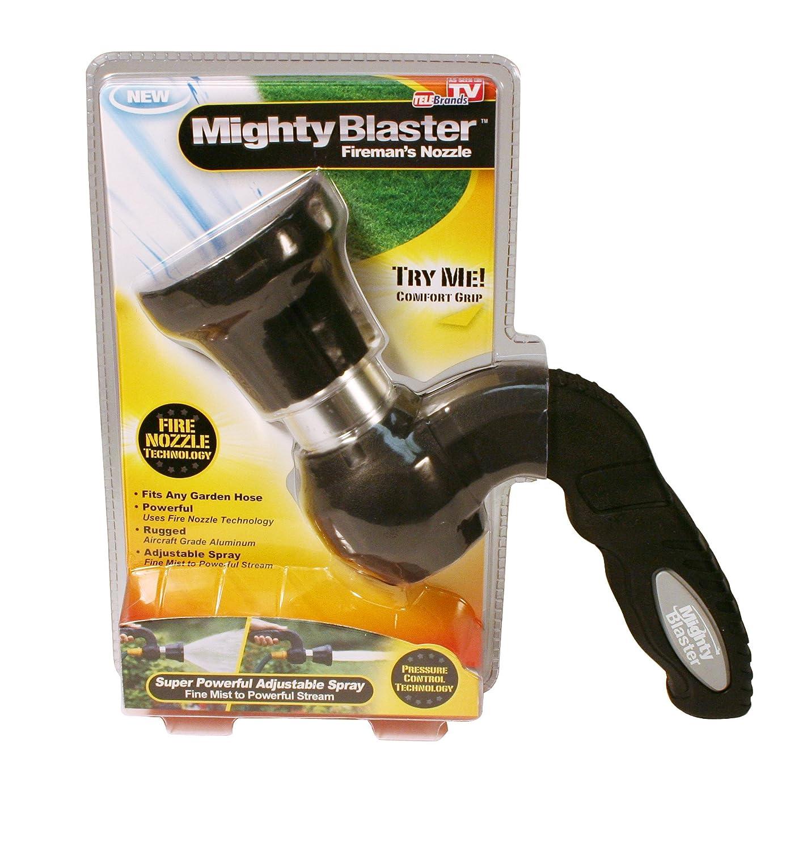 amazon com mighty blaster hose nozzle garden sprayer by