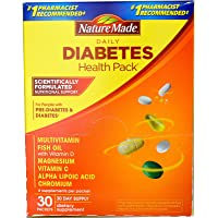 Nature Made Vitamin, Diabetes Pack 30 CT (Pack of 1)