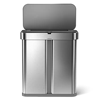 Simplehuman ST2015 15.3-gallon Kitchen Trash Can