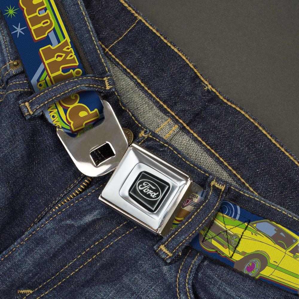Buckle Down Seatbelt Belt Maverick Wfvg003