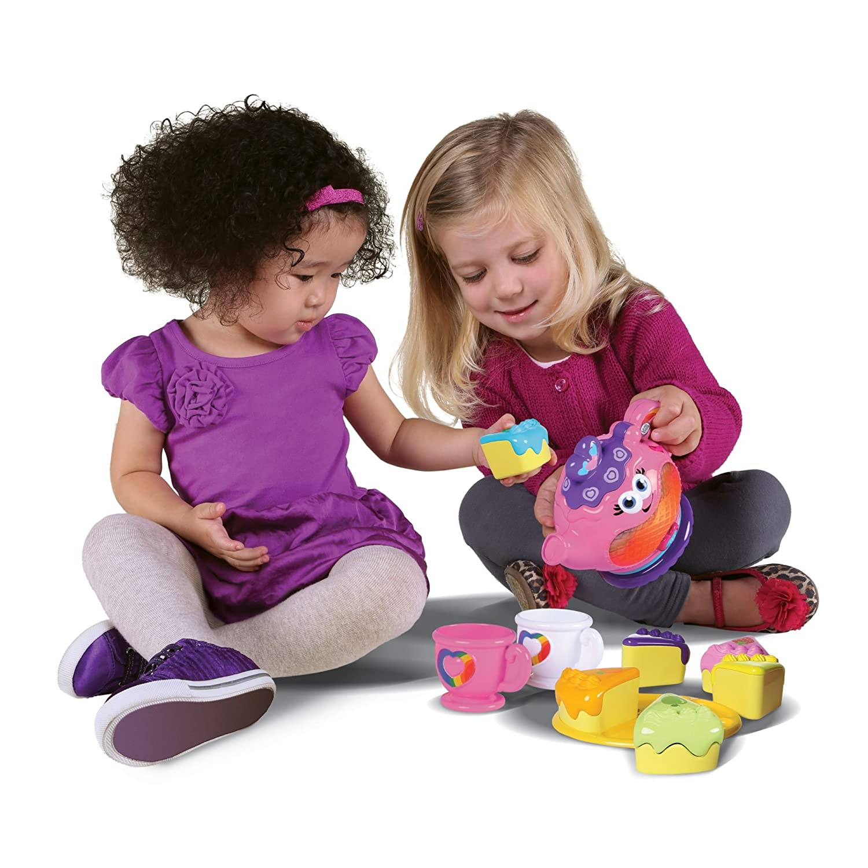 Amazon LeapFrog Musical Rainbow Tea Set Toys & Games