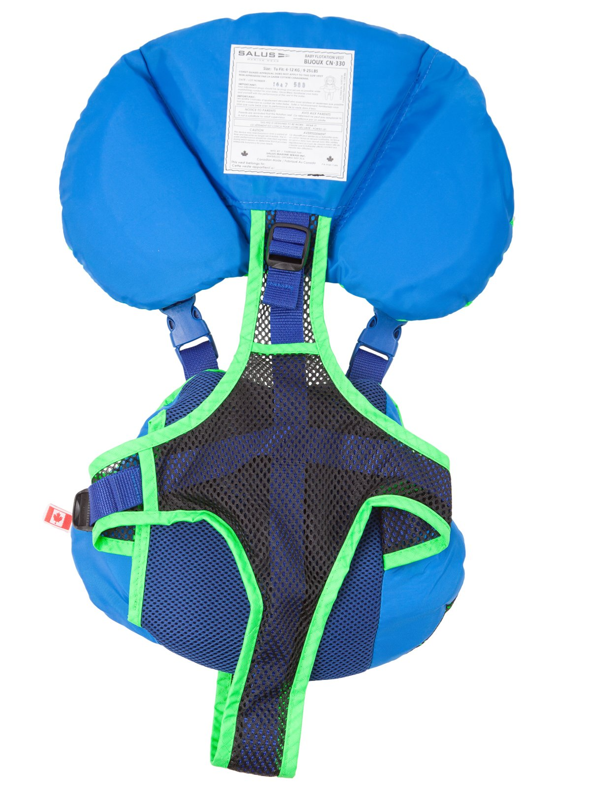 Salus Bijoux Baby Vest - Lime by Salus (Image #3)