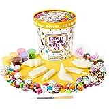 Beads for Jewelry Making Kids - Kid Made Modern Frosty Treats Jewelry Kit - DIY Custom Colorful