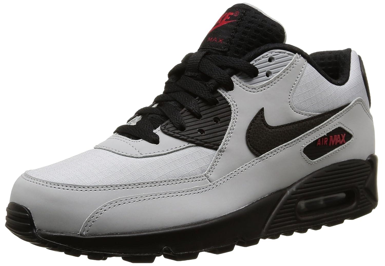 huge discount 2c9c0 2142d Nike Air Max 90 Essential Grey/Black/Red 537384-049 (SIZE ...