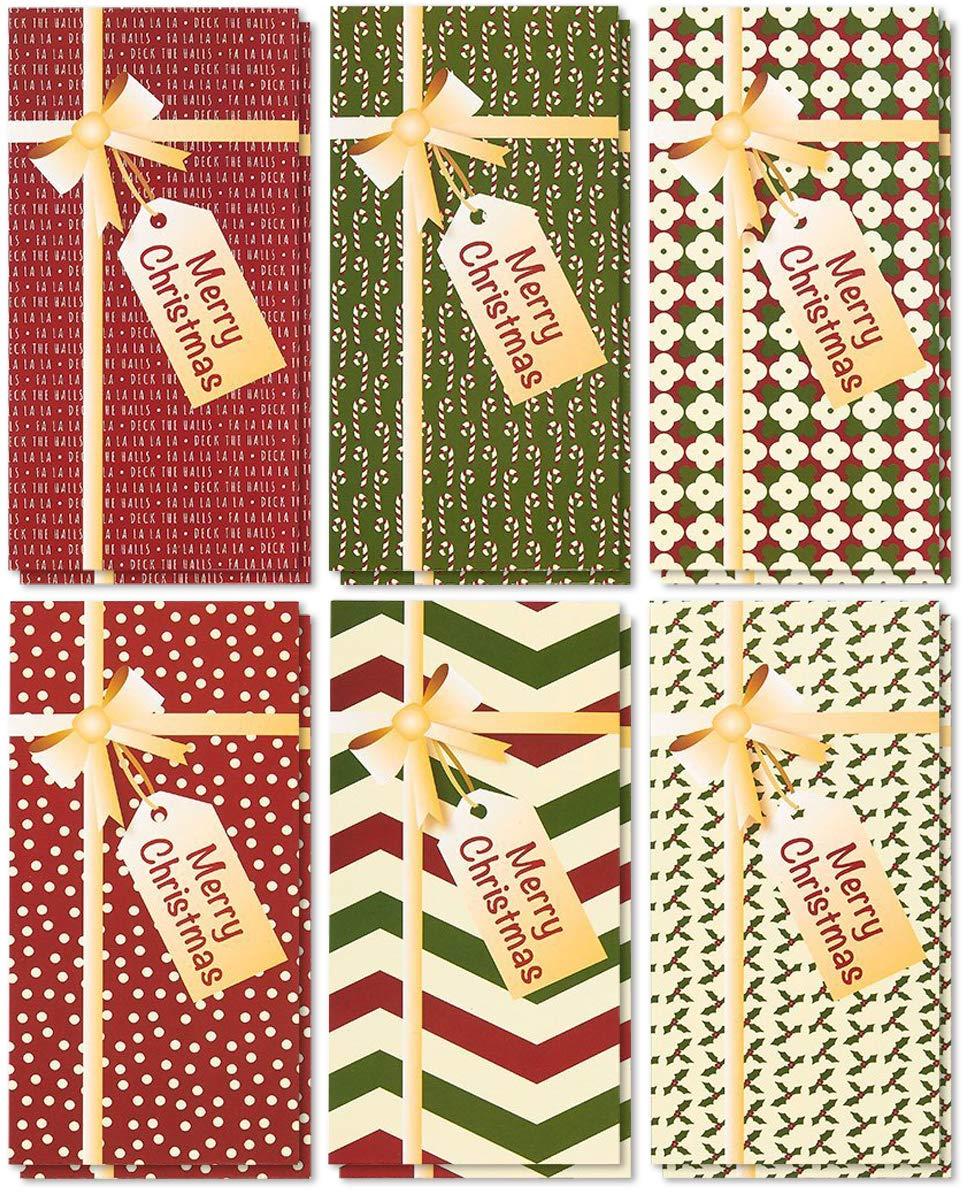 Amazon.com: 36-Pack Merry Christmas Holiday Greeting Card - Xmas ...