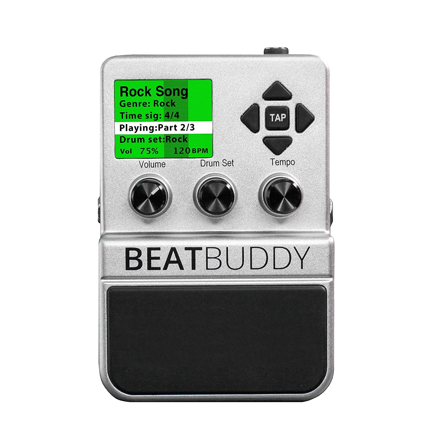 singular sound beatbuddy the first guitar pedal drum