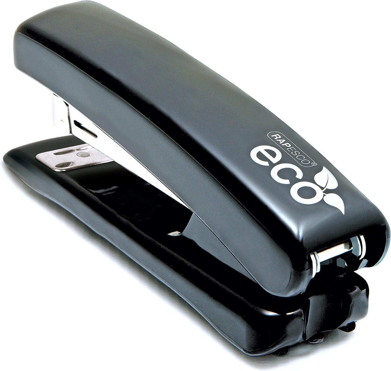 Colore: Nero 80gsm Cuce fino a 20 fogli Rapesco Cucitrice da Tavolo ECO Full Strip