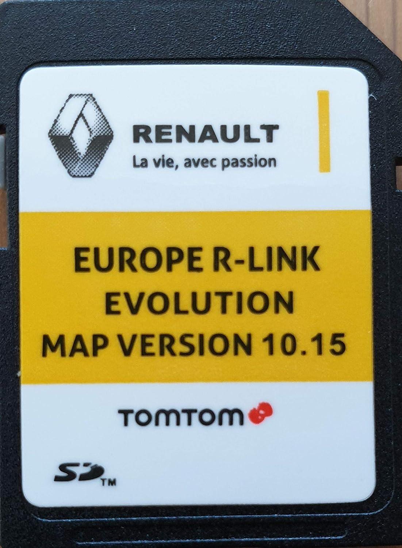 RENAULT 2019 TomTom R-Link 10.15 Carte SD Europe facture NOUVEAU