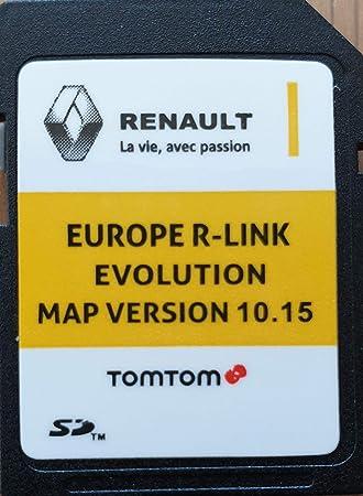 Tarjeta SD GPS Europe 2019-10.15 - Renault R-Link