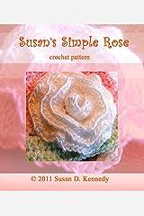 Susan's Simple Rose Crochet Pattern