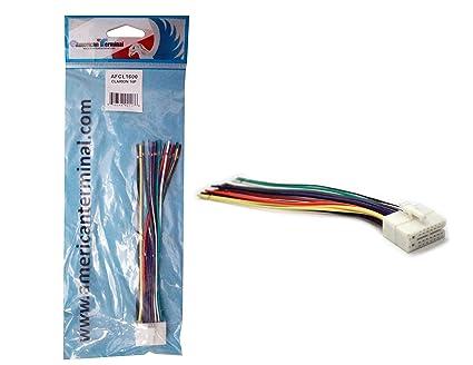 amazon com american terminal afcl1600 universal 16 pin plug for rh amazon com