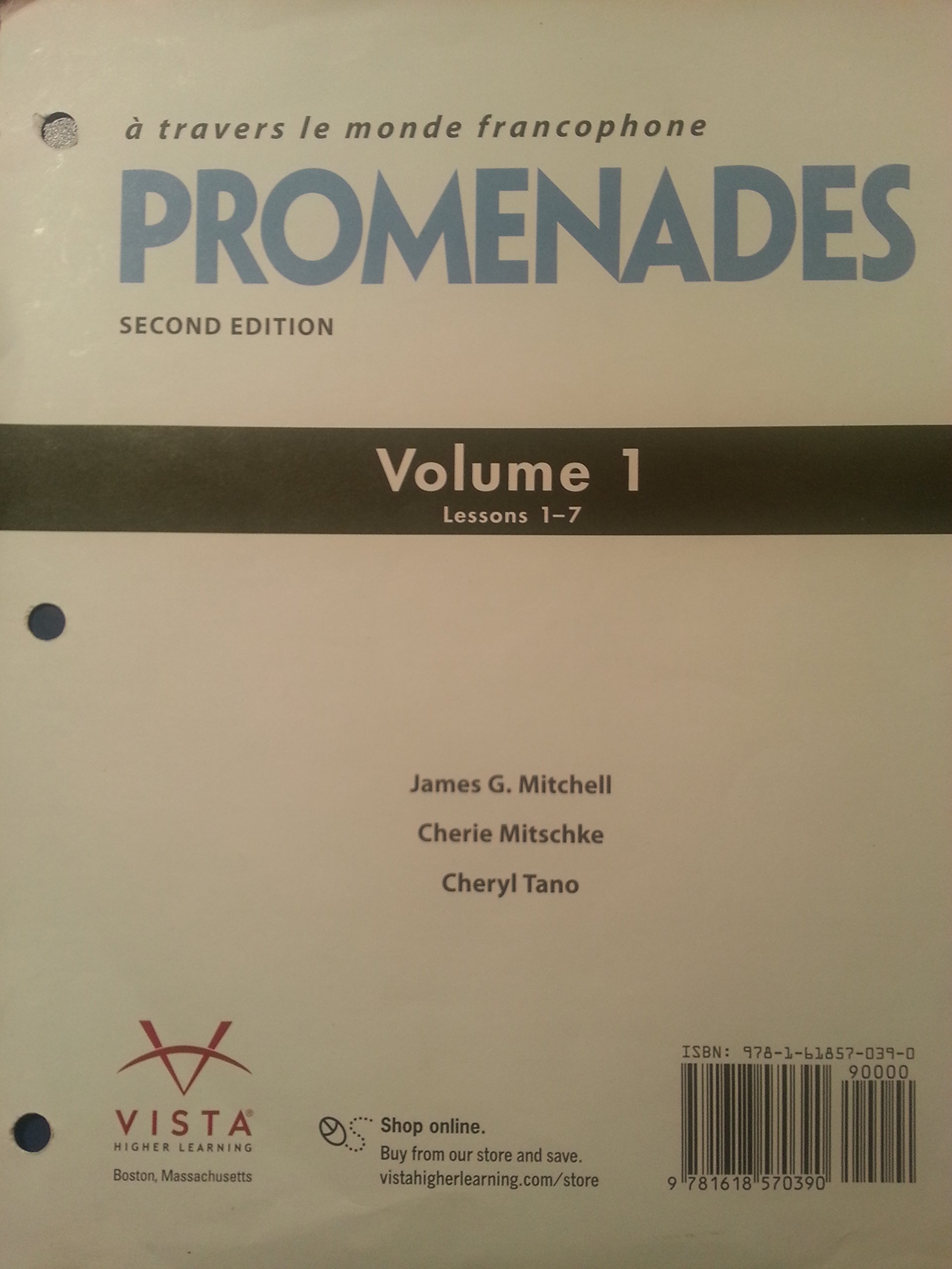 Promenades 2nd edition loose leaf volume 1 lessons 1 7 james g promenades 2nd edition loose leaf volume 1 lessons 1 7 james g mitchell cherie mitschke cheryl tano 9781618570390 amazon books fandeluxe Gallery