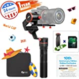 FeiyuTech a1000 3-Axis Gimbal Stabilizer, Payload Upgrade to 150-1700 g, for Sony a Series RX Series Panasonic,Cameras, iPhone X 8, Samsung S8, GoPro Hero 6 5, with Carrying Case & 16 GB SD Card