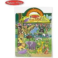 Melissa & Doug Puffy Sticker Play Set: Safari - 42 Reusable Stickers