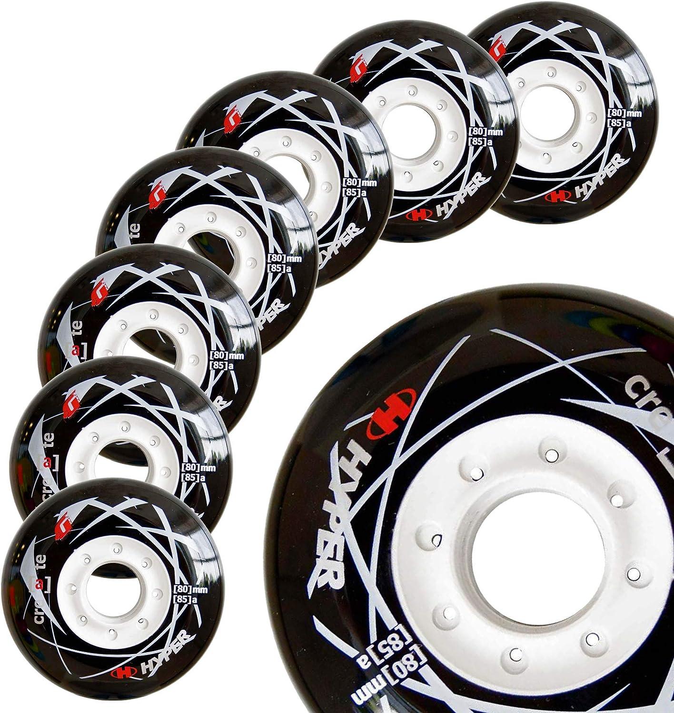 8 Wheels Hyper Create+G Inline Skates Wheels 85A ruedas patines en Linea 80MM