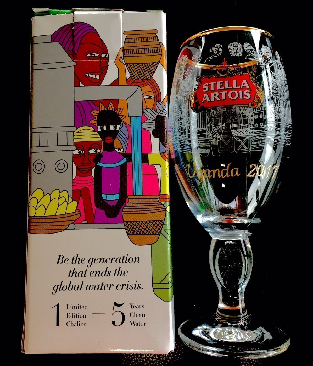 Stella Artois Chalice Engraving, STELLA CHALICE 33Cl, Stella Artois Buy a Lady a Drink, Cambodia, Uganda and Brazil Chalice, Stella Chalice Engraved, Buy a Lady a Drink, Engraved Glassware Gifts by Akoko Art Handengraved Crystal Glass (Image #3)