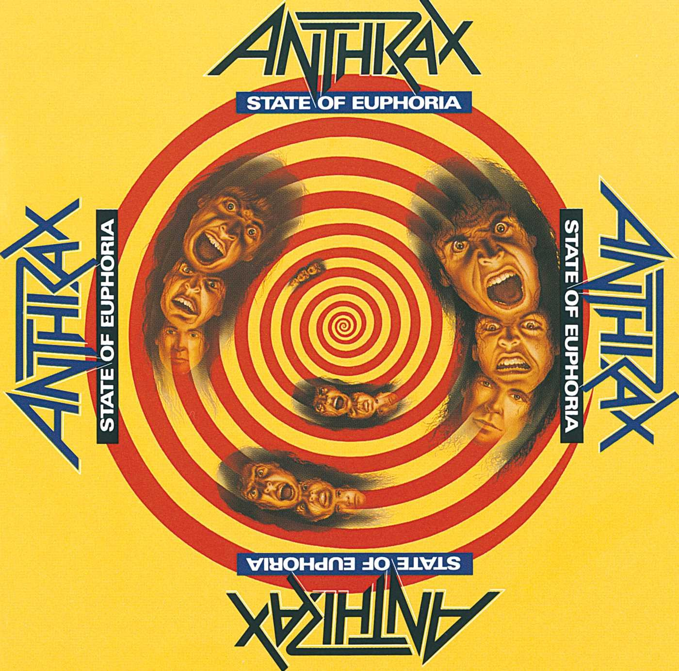 CD : Anthrax - State of Euphoria [Explicit Content]