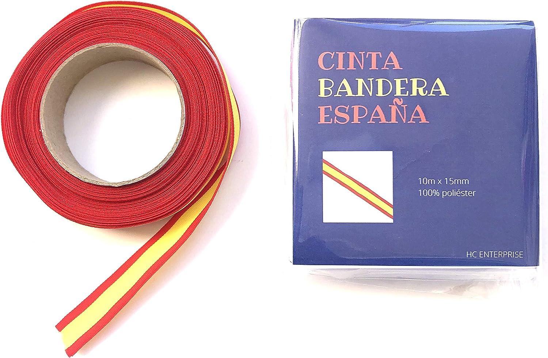10m Cinta Bandera España: Amazon.es: Hogar
