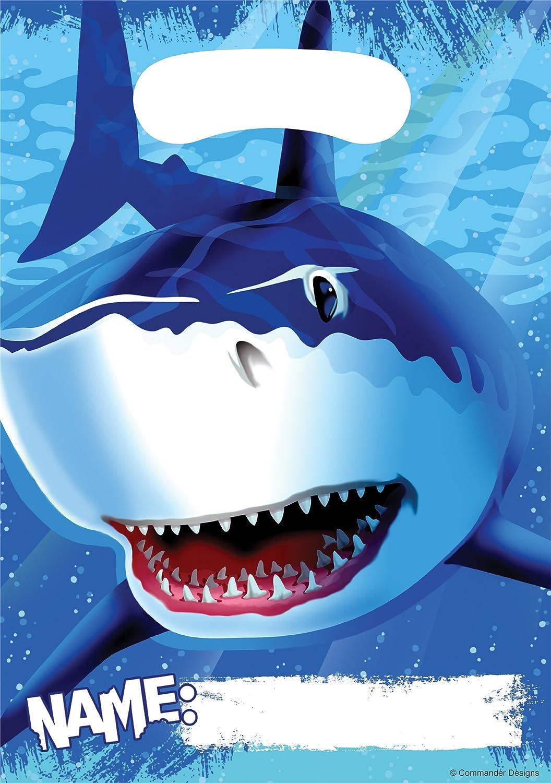 8-Count Party Loot Bags, Shark Splash