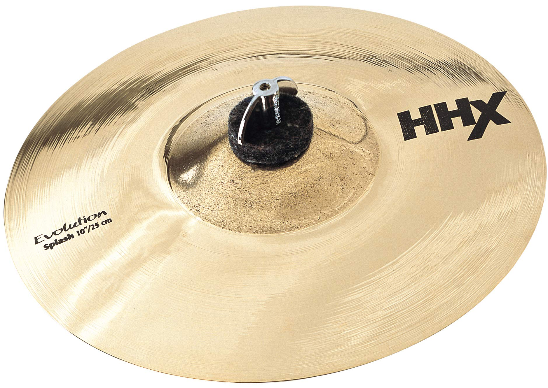 Sabian HHX 10'' Evolution Splash Cymbal, Brilliant Finish by Sabian