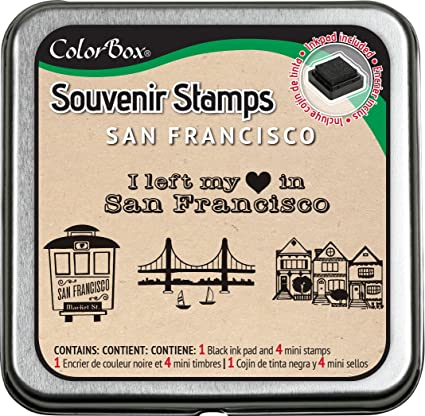 CLEARSNAP ColorBox Souvenir Stamps, San Francisco