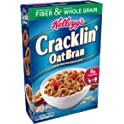 10-Pk Kelloggs Breakfast Cereal Cracklin Oat Bran