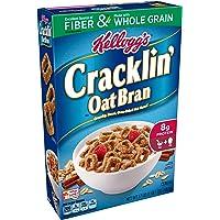 10-Pk Kelloggs Breakfast Cereal Cracklin Oat Bran