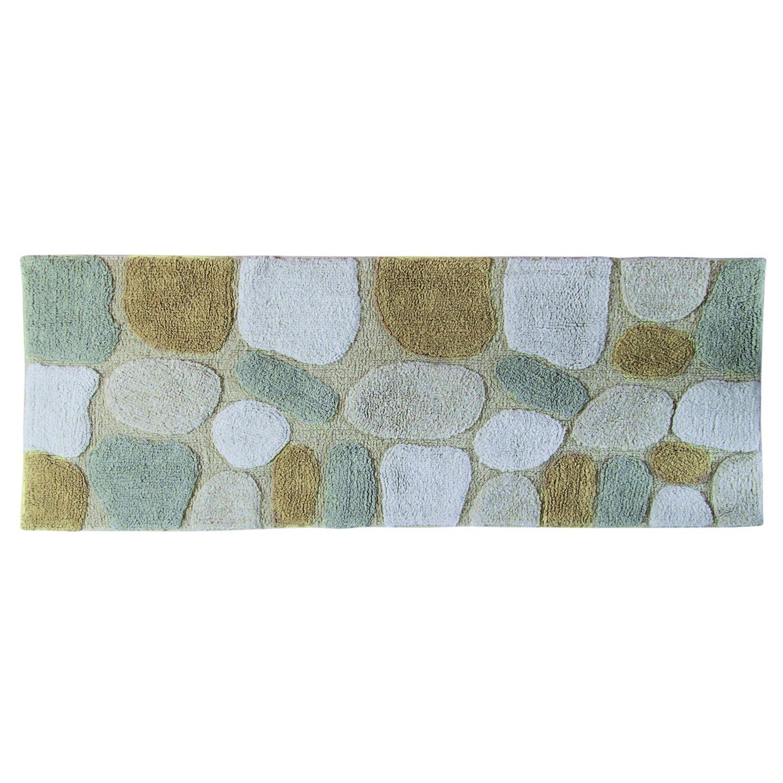 Amazon.com: Chesapeake Merchandising Pebbles Cotton 24 in x 60 in ...