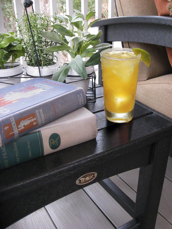 Trex Outdoor Furniture Rockport Club 18-Inch Side Table, Vintage Lantern