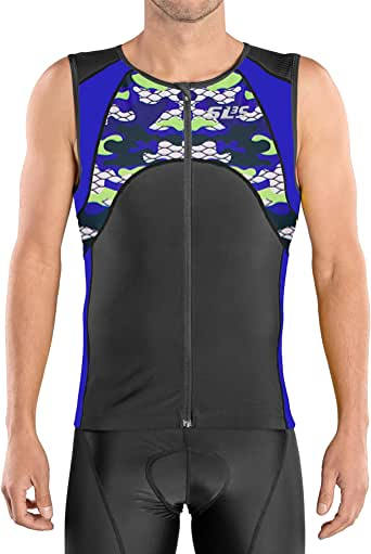 Amazon.com : SLS3 Mens Triathlon Top - Triathlon Shirt