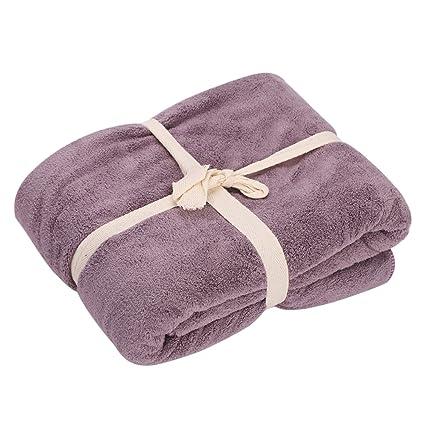 Toalla de baño de microfibra de gran tamaño, toalla de agua suave, super absorbente