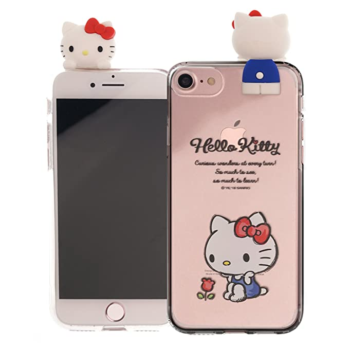 iPhone 6S Plus/iPhone 6 Plus Case Hello Kitty Cute Figure Doll Soft Jelly Cover for [ iPhone 6S Plus/iPhone 6 Plus ] Case - Figure Hello Kitty Sitting