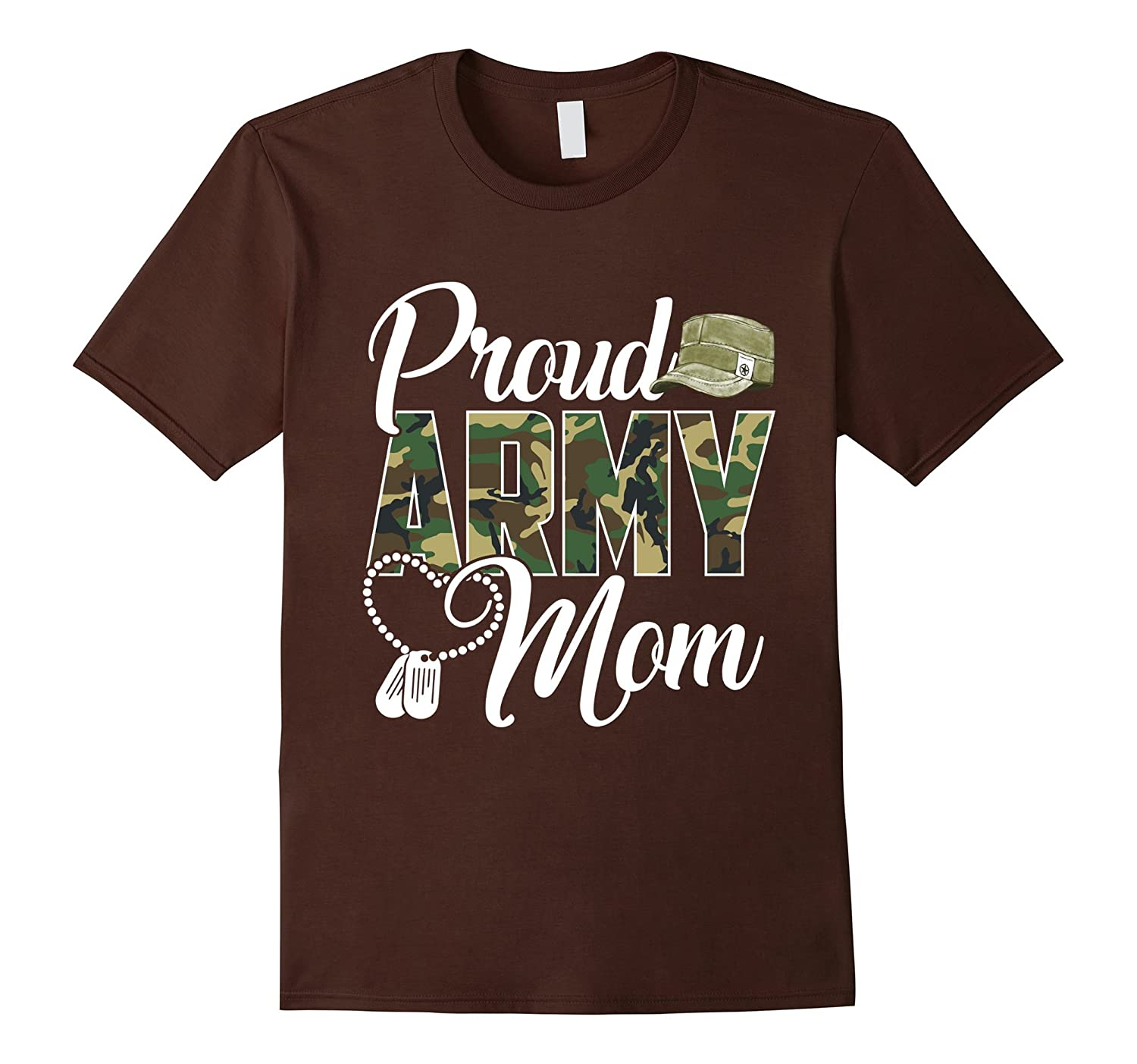 Proud Army Mom Shirt Gift-alottee gift