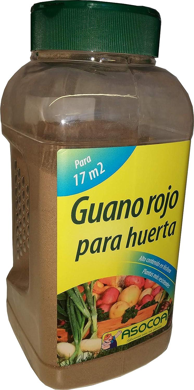 ASOCOA - Abono Guano Rojo Ecológico para huerta 1 Kg