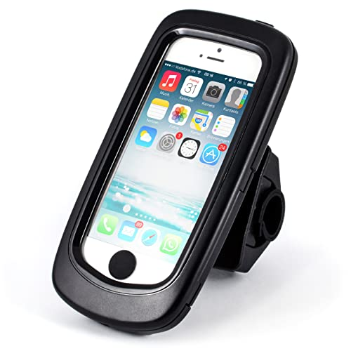 NEW Model iPhone 5 / 5S Splashwaterproof bicycle bike mount   bicycle case / holder   mobile phone / Smartphone   easy + secure mounting   for Bike Navigation   for all types of bicycles and handlebars