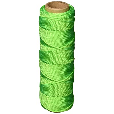 Keson GT275 #18 Twisted Nylon Mason Twine, Green, 275-Foot: Home Improvement