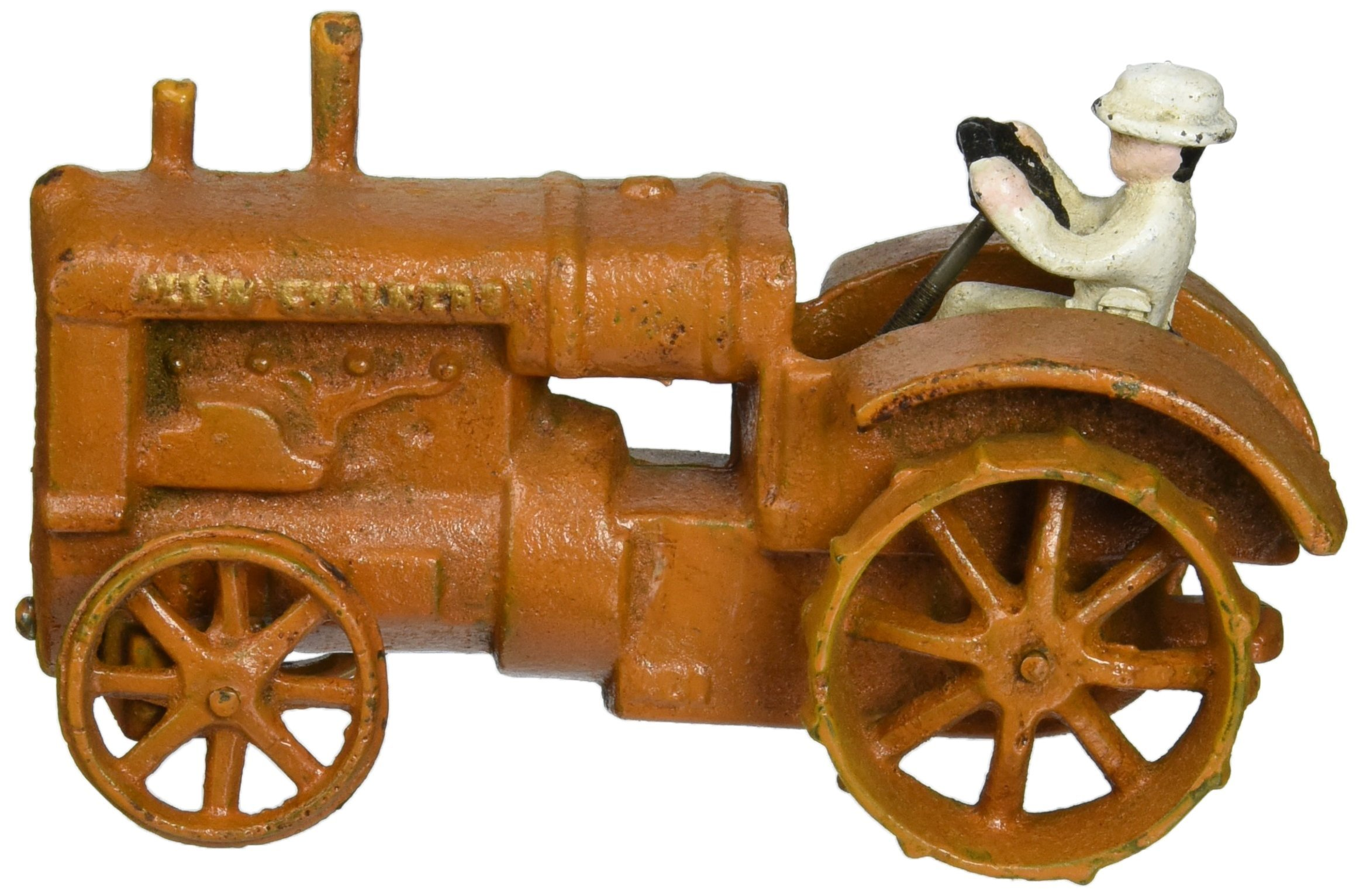 Design Toscano Allis Chalmers Replica Cast Iron Farm Toy Tractor, Multicolored by Design Toscano
