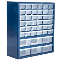 Deals on Stalwart Deluxe 42 Drawer Compartment Storage Tool Box