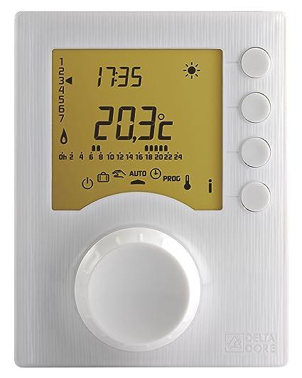 Delta dore tybox - Termostato programable tybox157 emisor tybox137