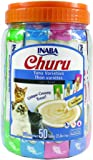 INABA Churu Lickable Purée Wet Treat for Cats | Playful Hand Feed or as Food Topper | Grain Free, Preservative Free…