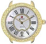 MICHELE Women's MW21B01B0963 Serein 16 Analog Display Swiss Quartz Gold Watch Head