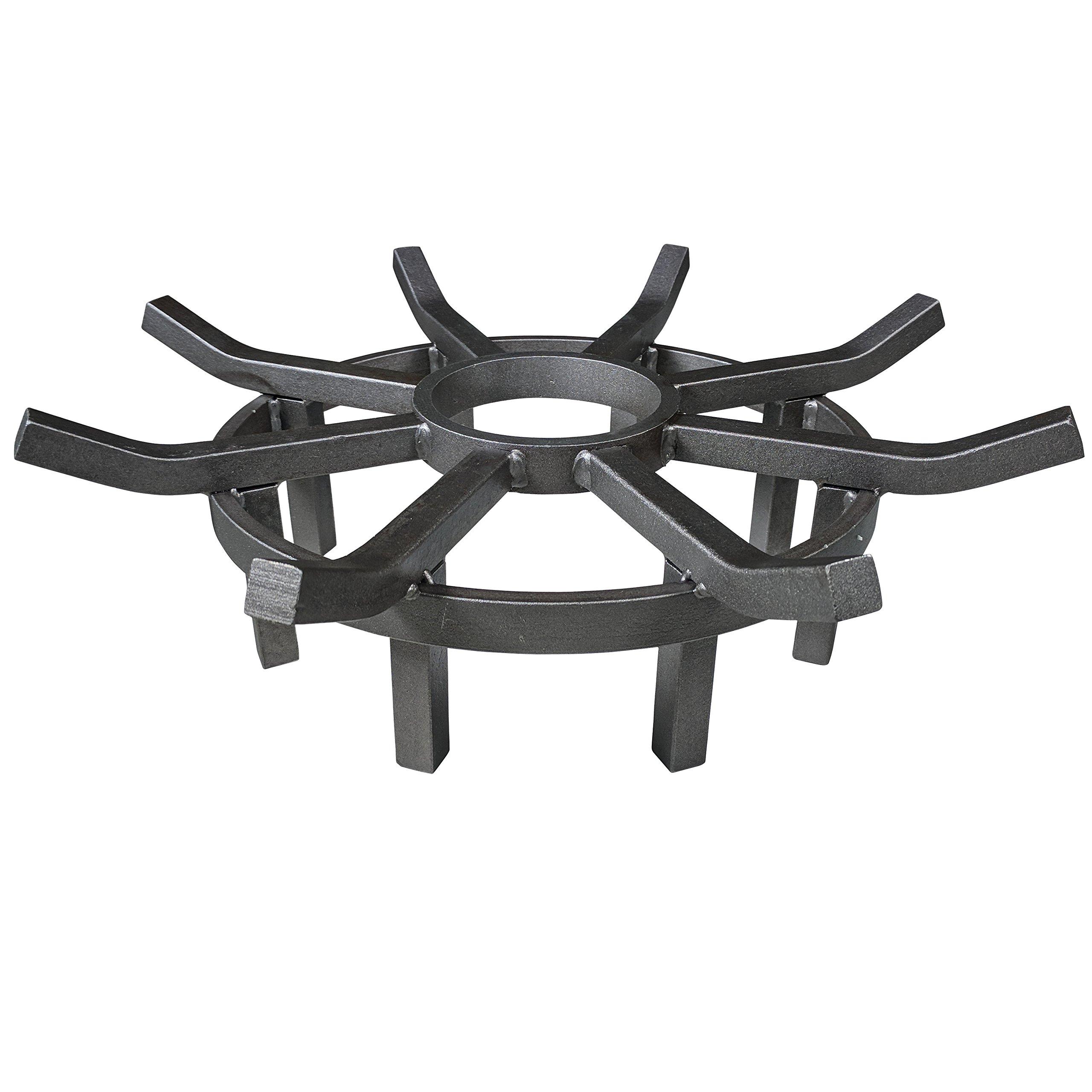 Titan 20'' Wagon Wheel Fire Grate